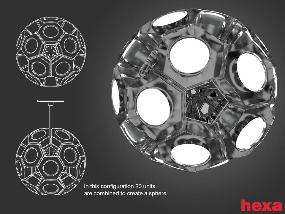 HexaX20-sphere by migrainboy