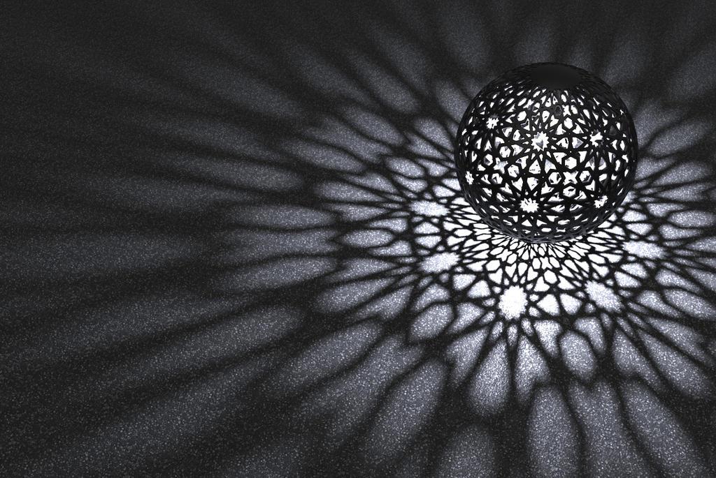 Mashrabiya ball by migrainboy