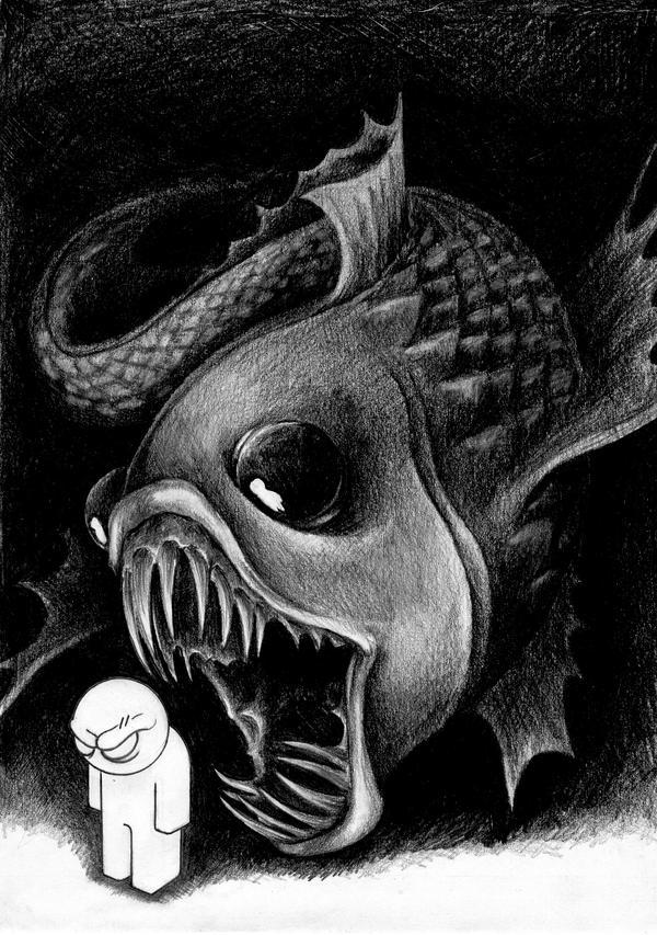 The sleep of reason - fishy by migrainboy