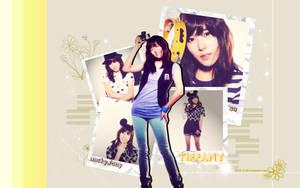 Wallpaper Tiffany SNSD by shak-3