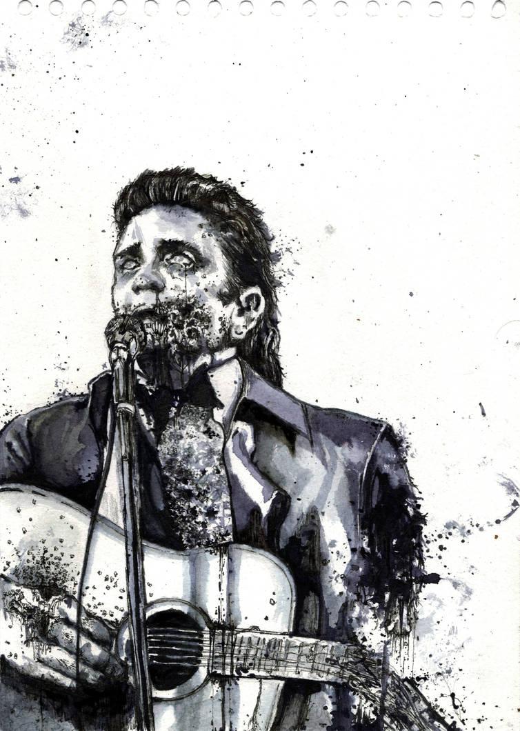 Johnny Cash Undead By Sigmaoctanus On Deviantart
