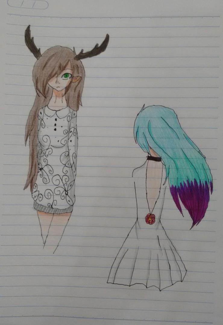 School doodles by b0nb0n456