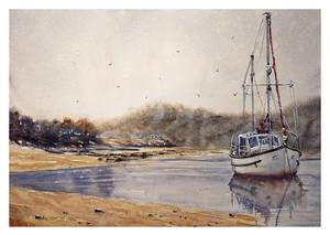 Boat in Watercolor!