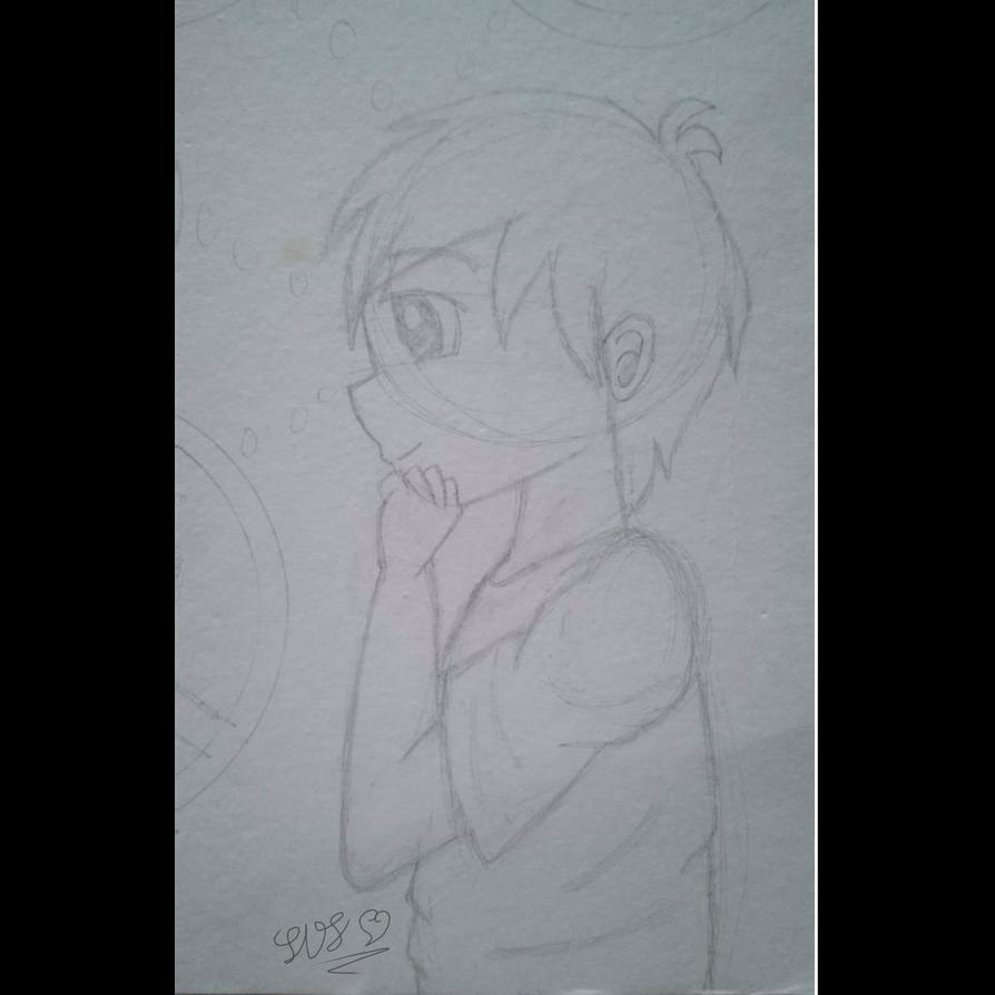 Thinking Anime Boy By Sunriseshine88 On Deviantart
