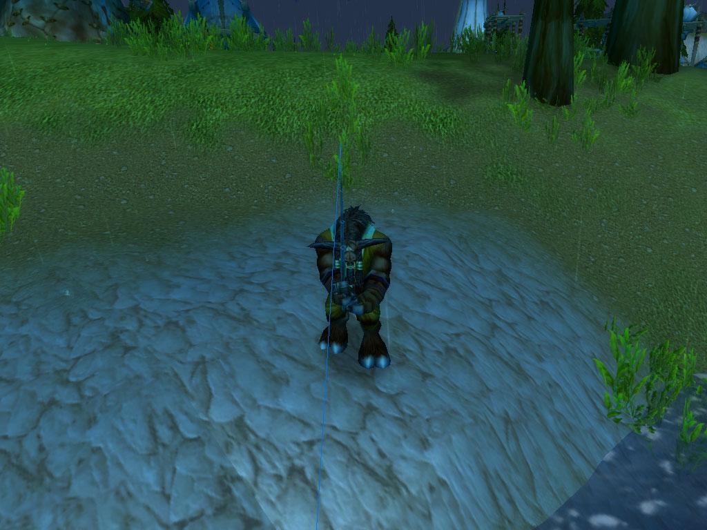 world of warcraft рыбалка