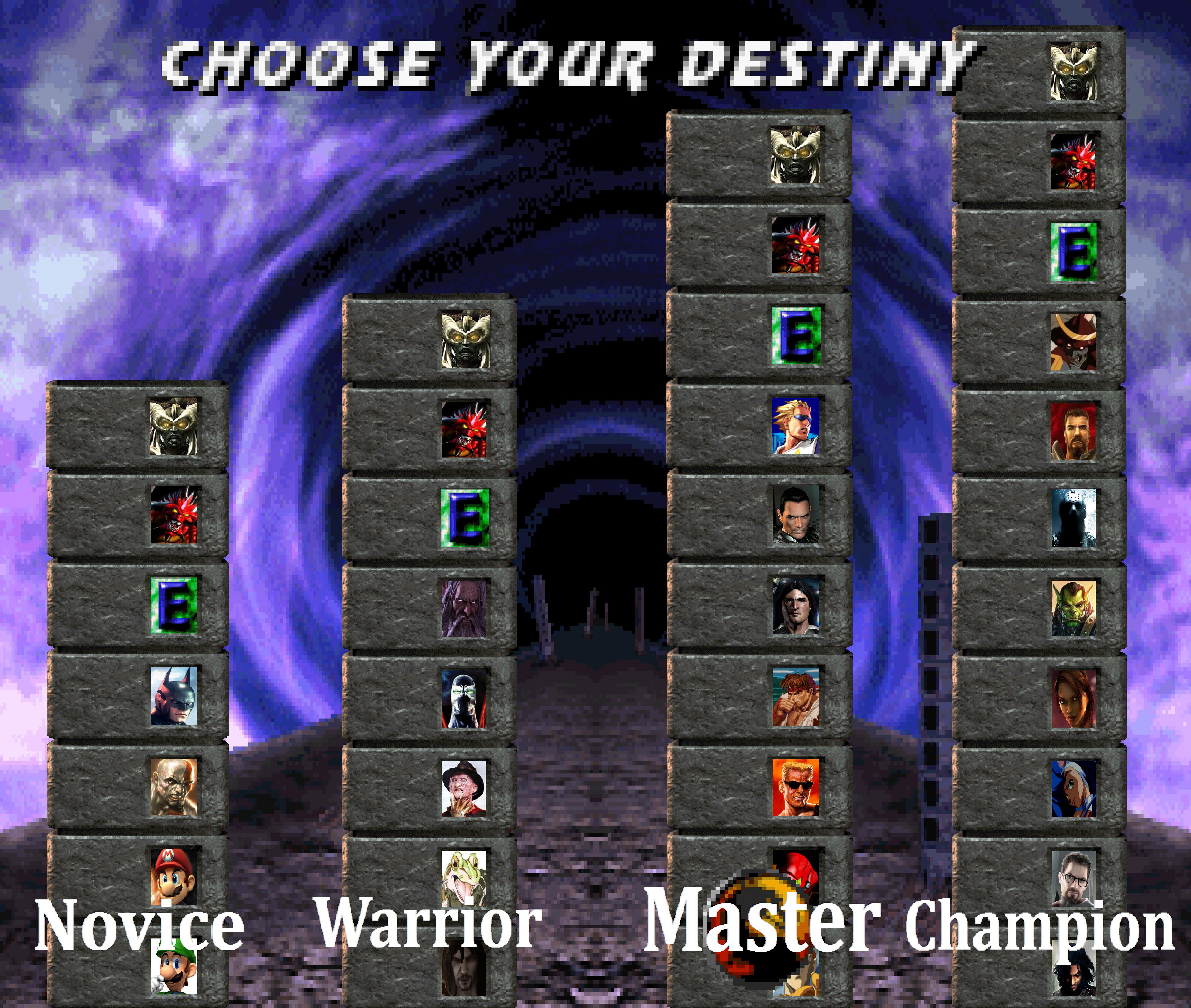 Destiny porter choose your destiny