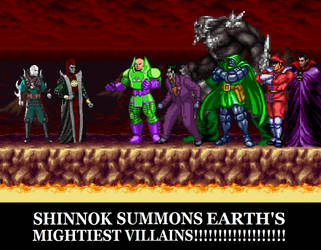 Earths Mightiest Villains by Gery850