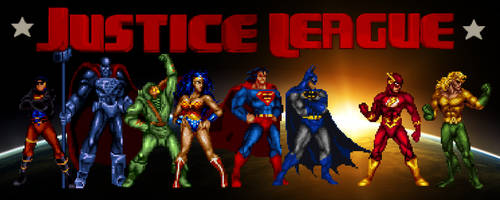 The Justice League by Gery850