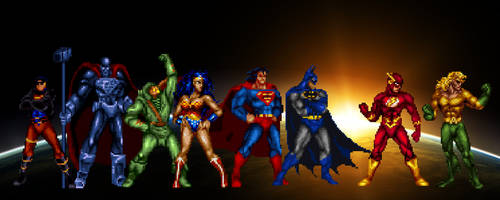 The Justice League Alt by Gery850