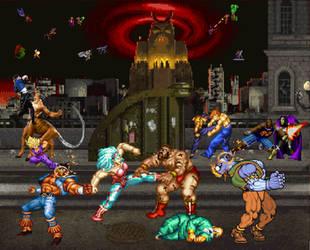 Big brawl in the big city by Gery850