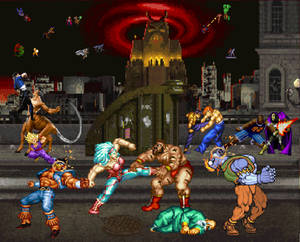 Big brawl in the big city