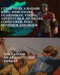 Arrow to the Throat Meme