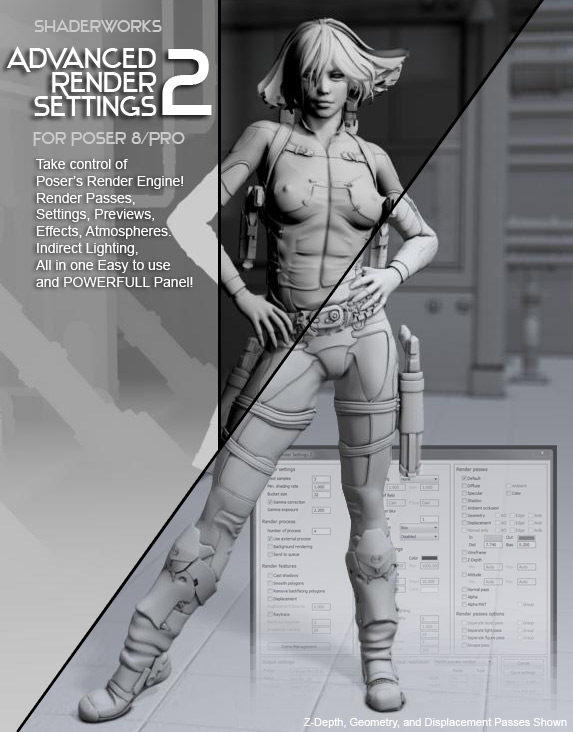 Advanced Render Settings 2 by RuntimeDNA
