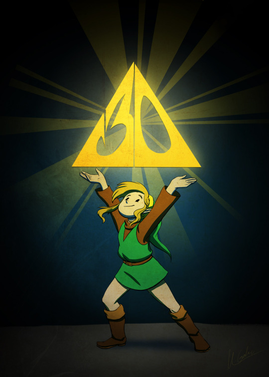 Legend Of Zelda 30th Anniversary By MGabric