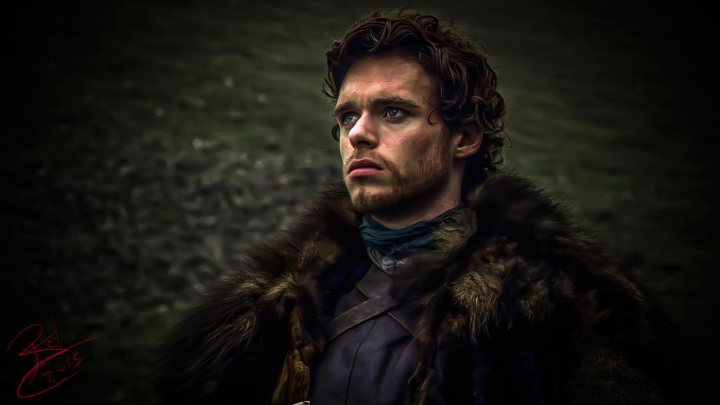Robb Stark - King of the North by BCValdez