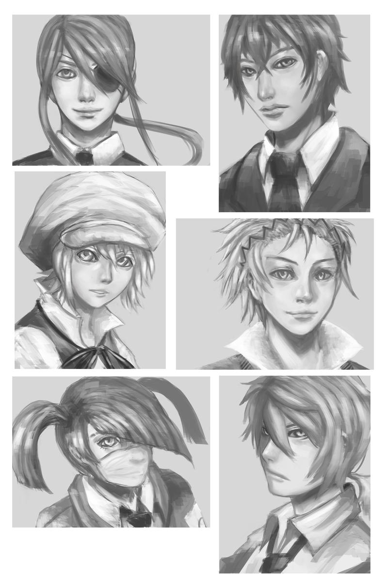 Mafia Headshots by astroaxus