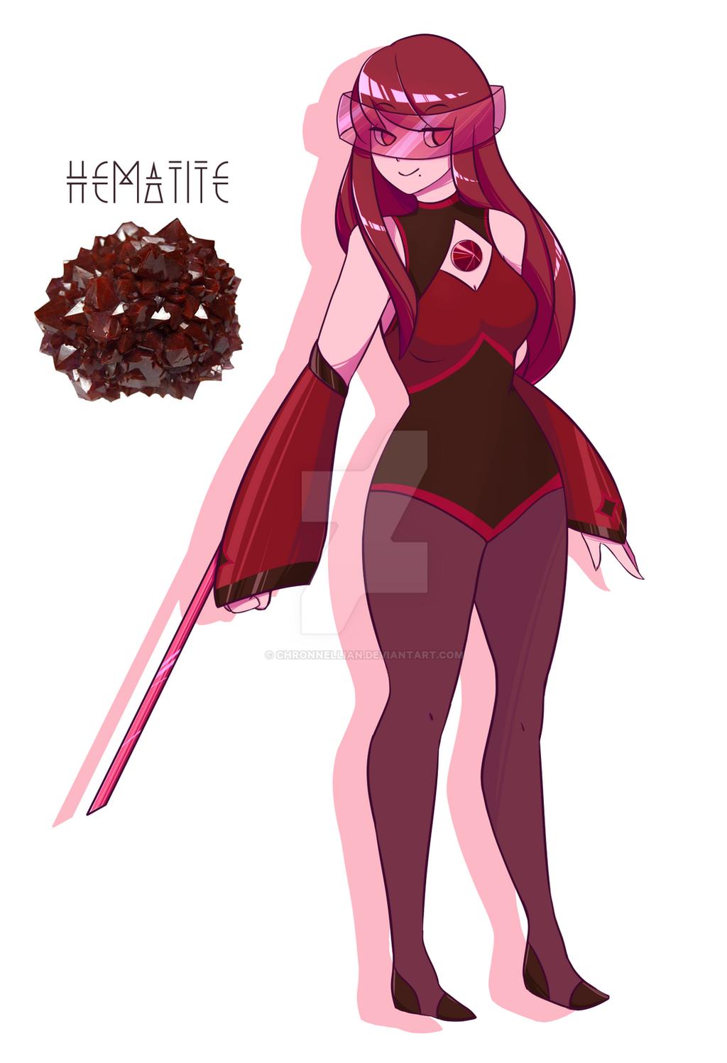 Gemsona Hematite by Ch... Plain Wallpaper