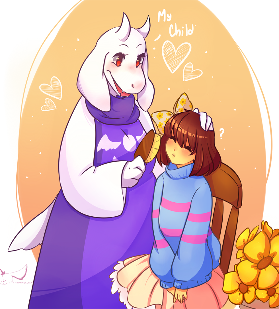 undertale   my child by chronnellian on deviantart