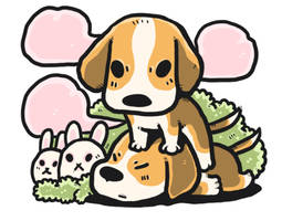 Beagle by lalabang