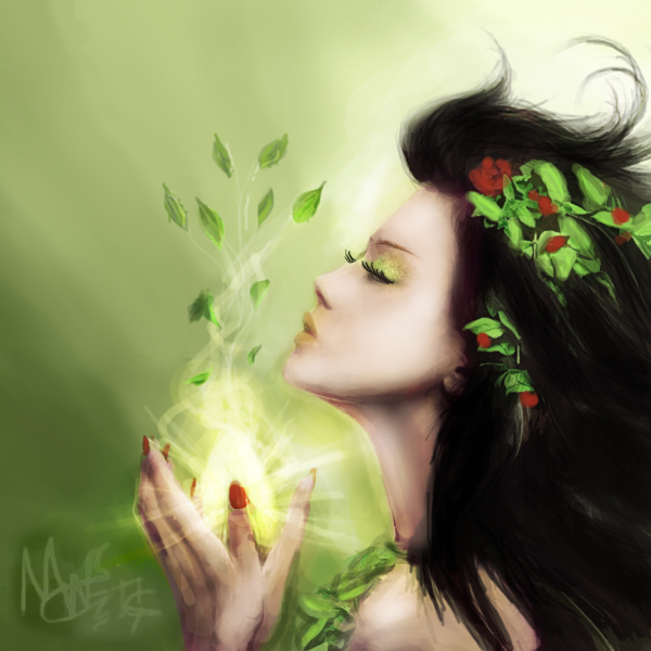Nature Essence by MyWorldIsCrushing