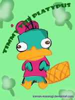 Perry's a Fan of Timmy Turner by kamaru-kasaragi