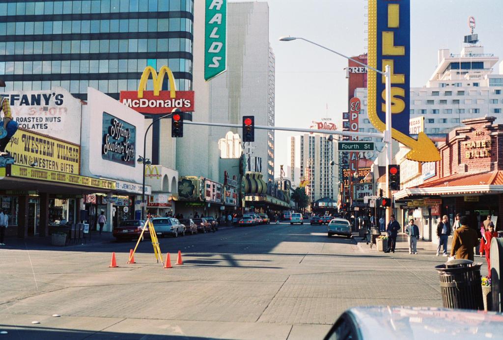 Downtown Las Vegas 1993 #1 by Texas1964