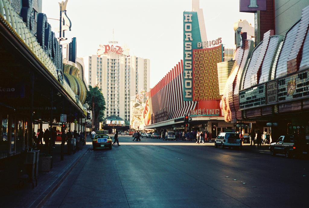 Downtown Las Vegas 1993 #2 by Texas1964