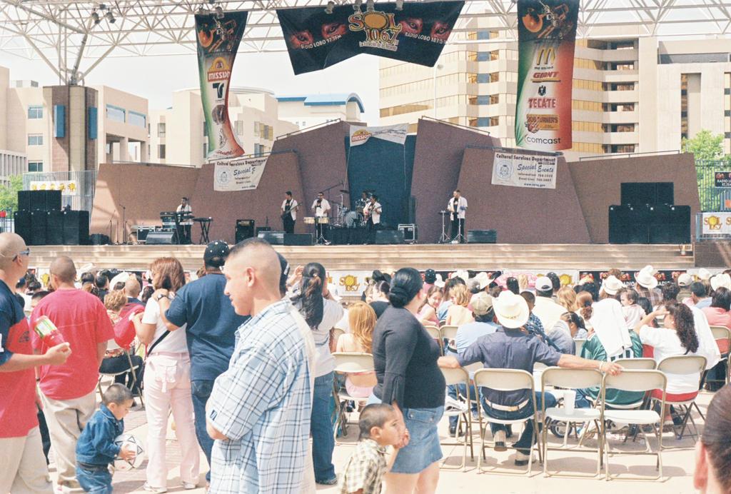 Salsa Band Performing at Civic Plaza #2 by Texas1964