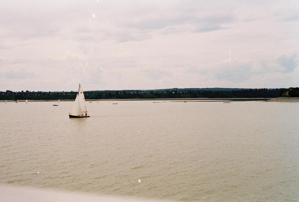 Sailboat on Lake Buena Vista by Texas1964