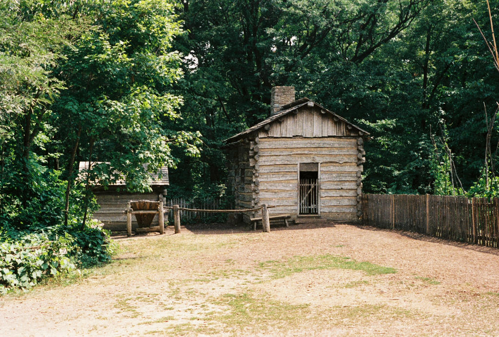 Old Log Cabin #5 by Texas1964