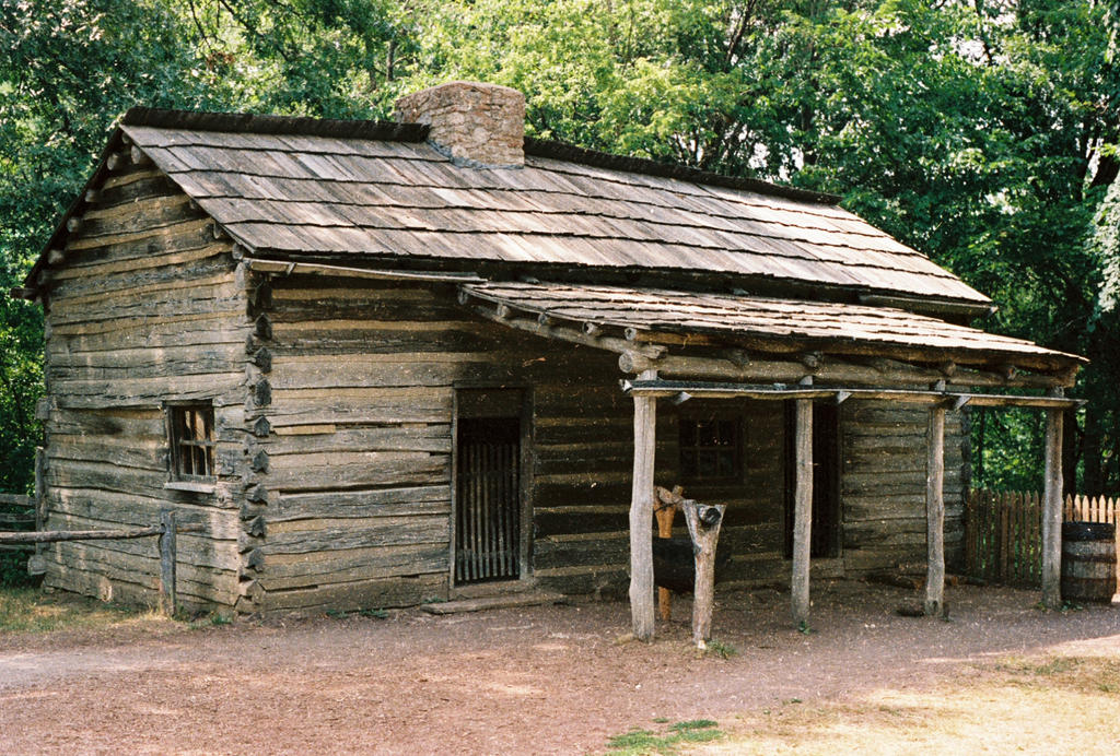 Old Log Cabin #6 by Texas1964