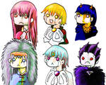 Gash Bell Characters