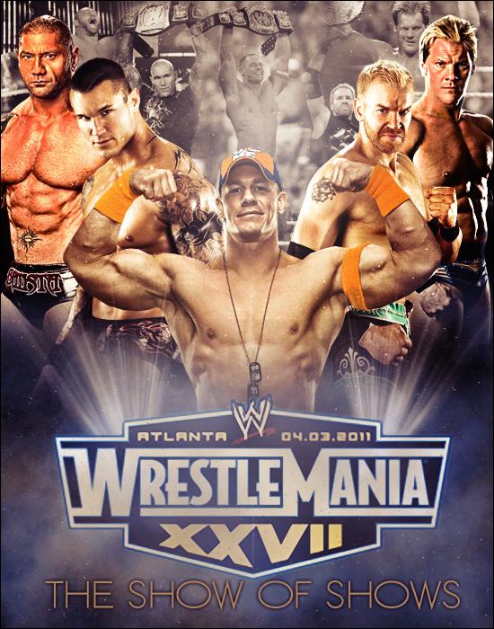 Wrestlemania 24 Poster Xxvii xxviiiWrestlemania 24 Poster