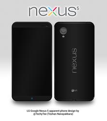 LG Nexus 5 Apparent Phone Design