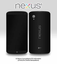 LG Nexus 5 according to FCC information