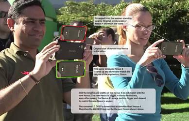 New Nexus and Nexus 4 comparison