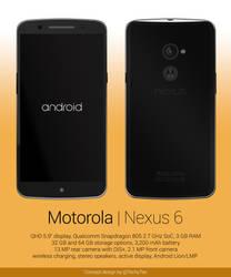Motorola Nexus 6 Concept Design