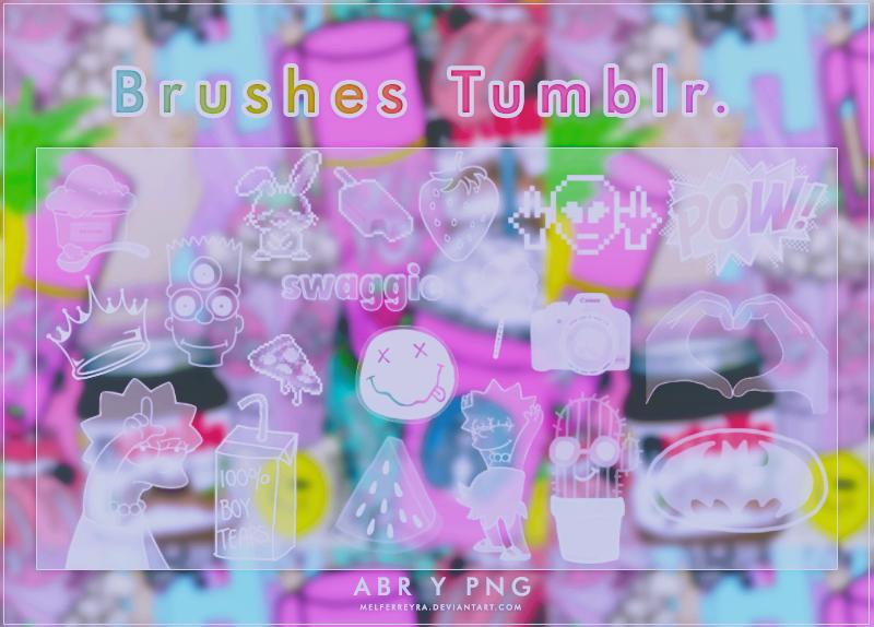 Brushes Tumblr  20  by MelFerreyra