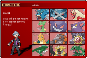 Jakezu Pokemon Trainercard