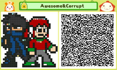 Awesome and Corrupt, QR for Pullblox aka Pushmo