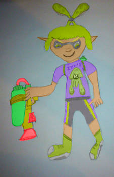 Sleak Disyne - Splatoon