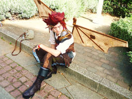 Steampunk Axel by Yazzzle