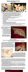 Steampunk Wings Tutorial by Yazzzle