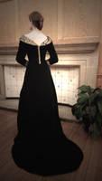 Elizabeth Woodville Costume Back