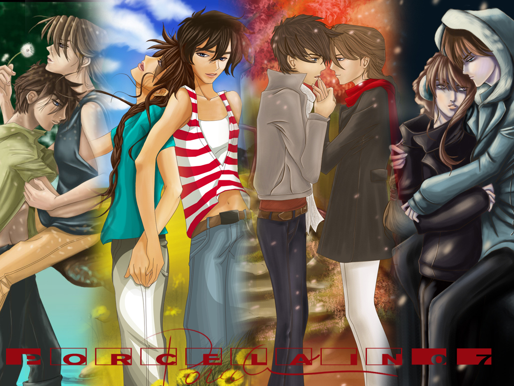 Four Seasons wallpaper by ~saikaistory on deviantART