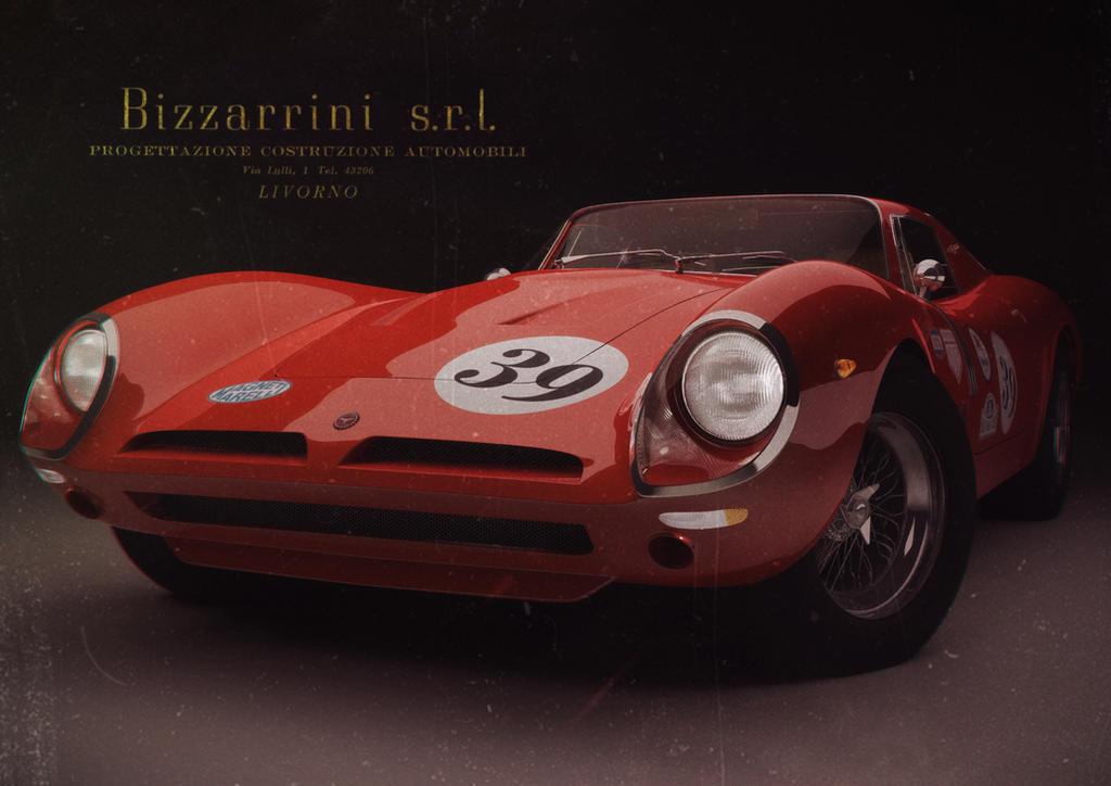 Bizzarrini 5300 GT by Sirtuuna