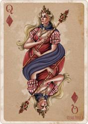 Queen of Diamonds by Sirtuuna