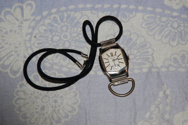 Timepiece Necklace by ginsengi