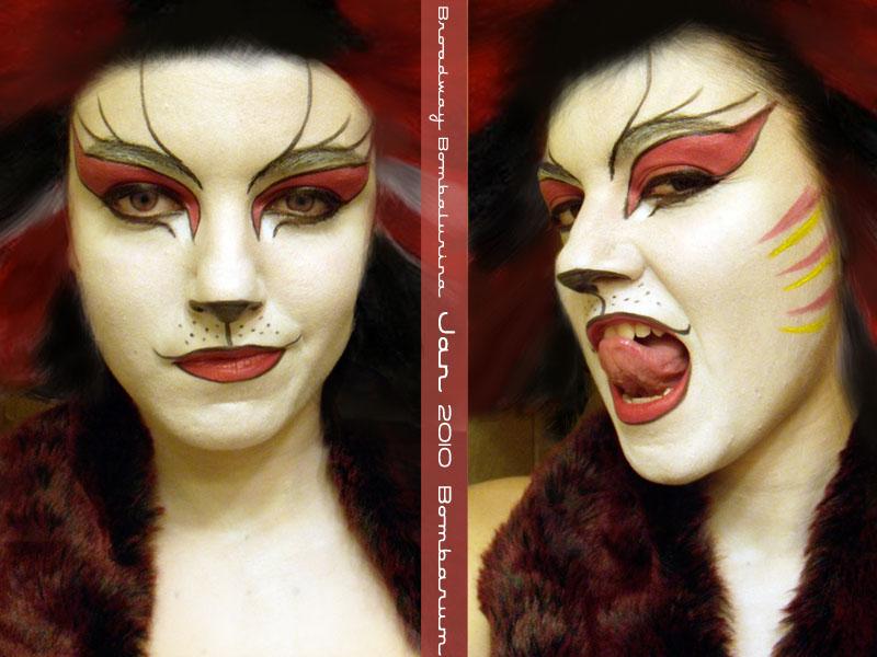 Broadway Bombalurina Makeup by eglem
