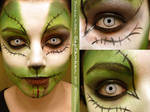 Zombie Kitten Makeup by eglem